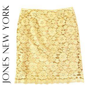 JONES NEW YORK Lace Pencil Skirt, 16, NWT!